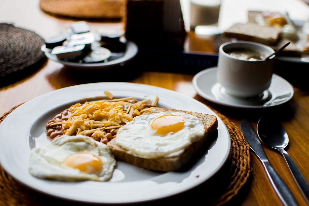 Breakfast - Consolation by Billy Collins