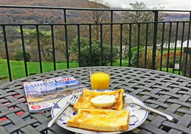 Breakfast Dale End Loggia Grasmere Lake District