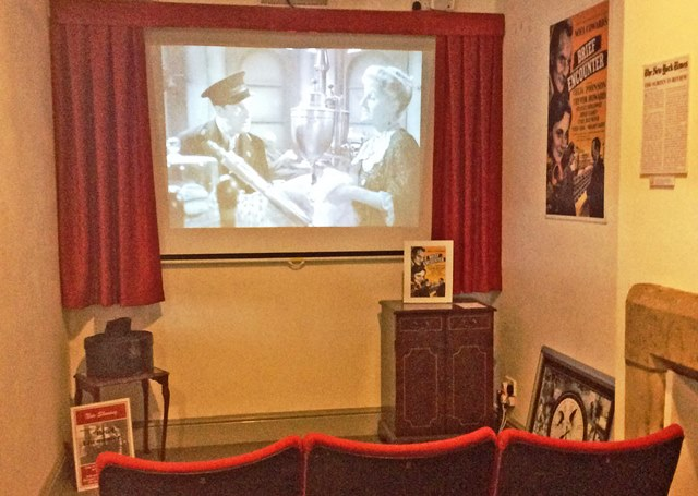 Brief Encounter film show in Carnforth Station Heritage Centre Lancashire - image zoe dawes