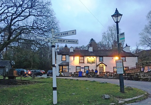 The Britannia Inn opposite Rose Cottage - photo Zoe Dawes