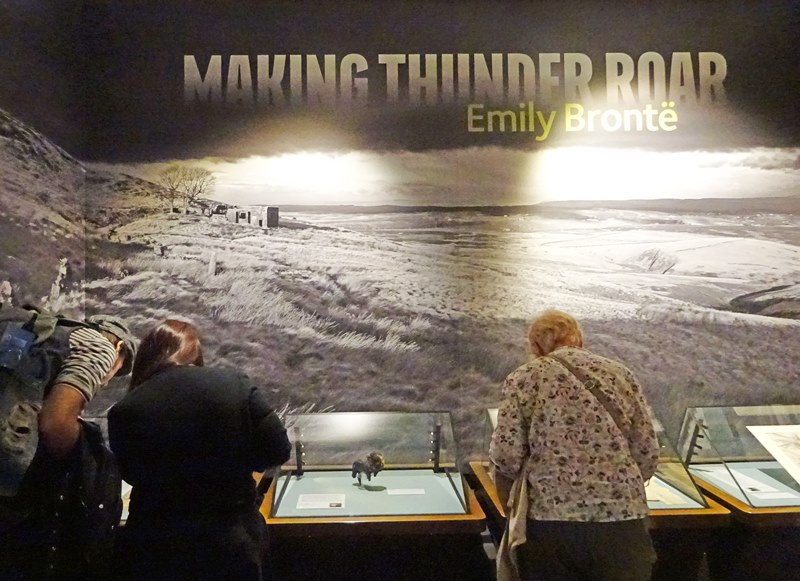 Bronte Parsonage Emily Bronte exhibition