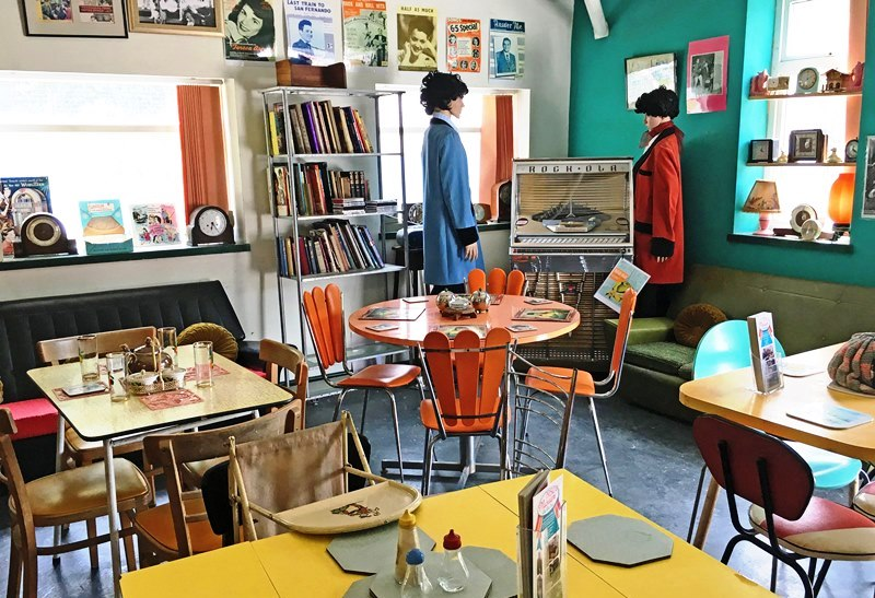 Cae Dai 50s Museum Cafe North East Wales - the Quirky Traveller