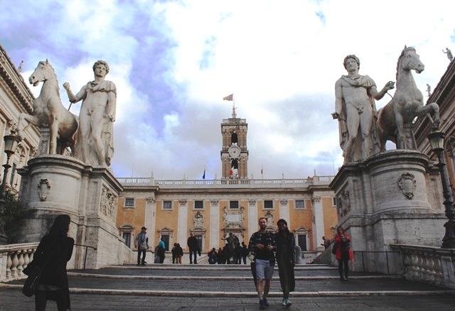 Capitoline Hill - 48 hours in Rome - The Quirky Traveller