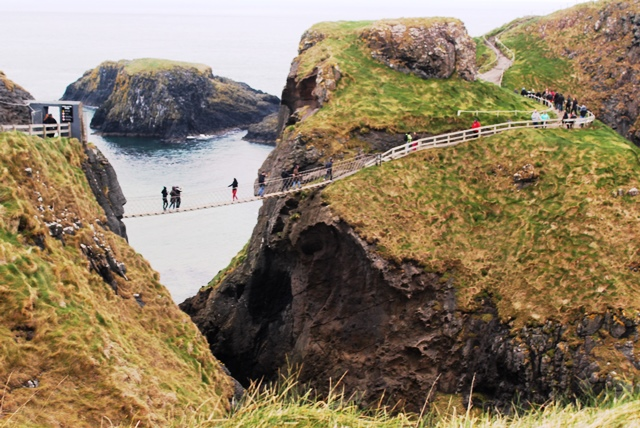 Carrick-a-Rede Rope Bridge on Causeway Coast Ireland - zoedawes