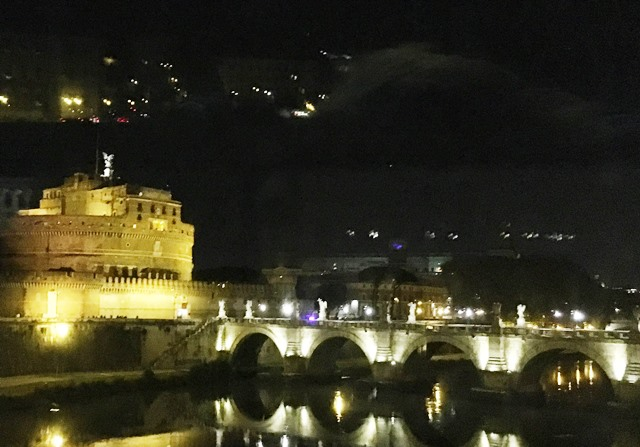 Castel Sant'Angelo - Rome at night