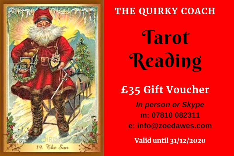 Tarot with Zoe Card Reading Voucher