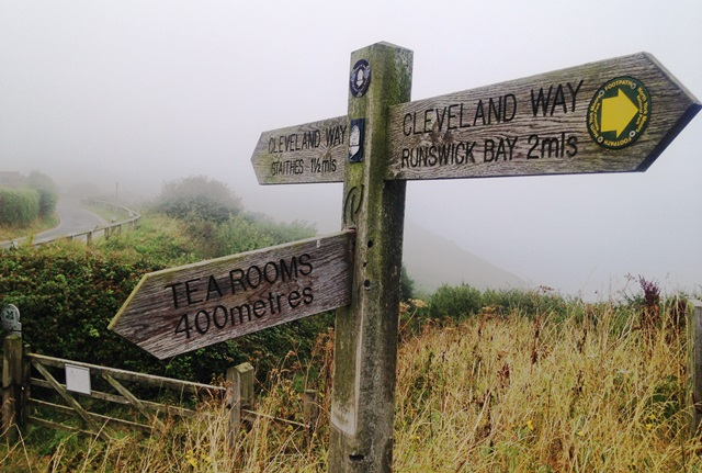 The Cleveland Way - Runswick Bay to Staithes - Yorkshire - photo zoedawes