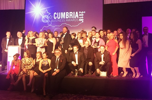 Cumbria Family Business Awards 2018 winners