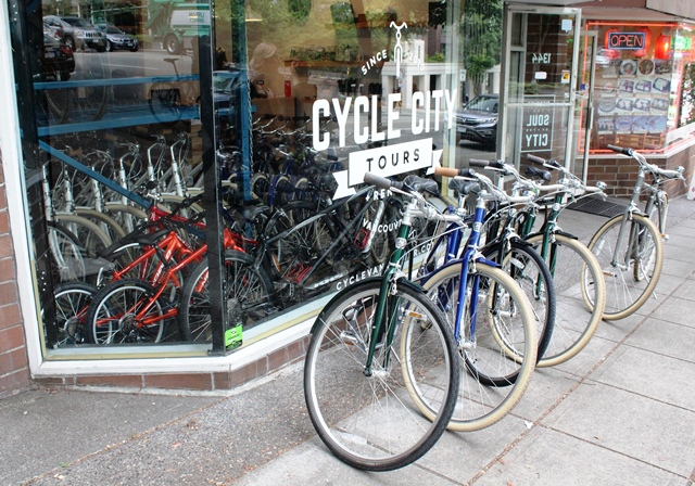 Cycle City Tours Vancouver - photo zoedawes