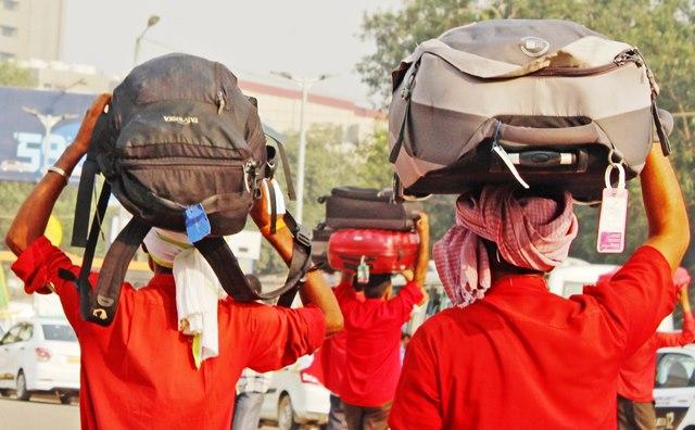 Delhi Station porters