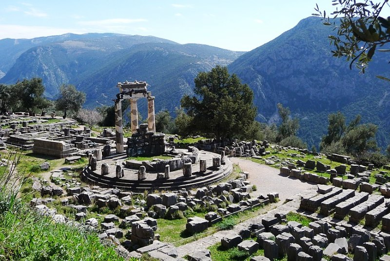 Delphi Greece - photo by Tamara Semina