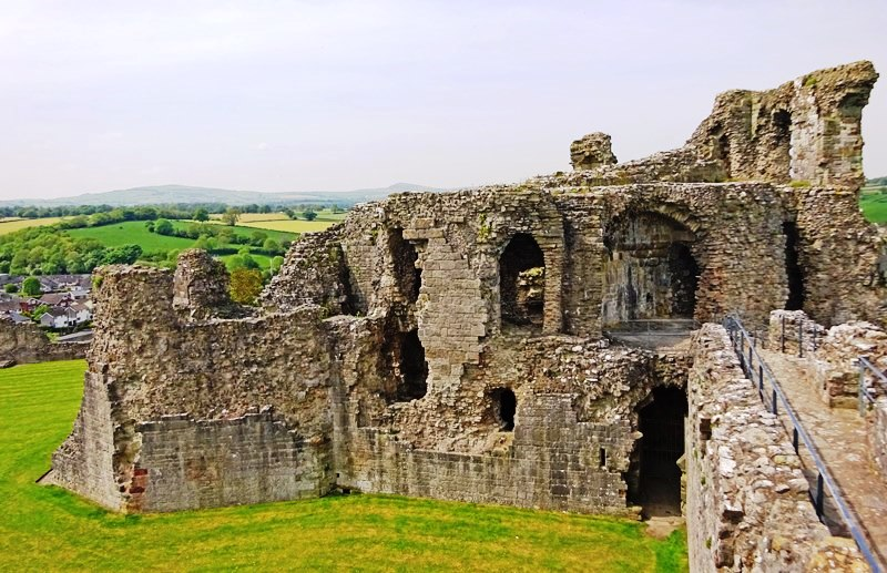 Denbigh Castle North East Wales