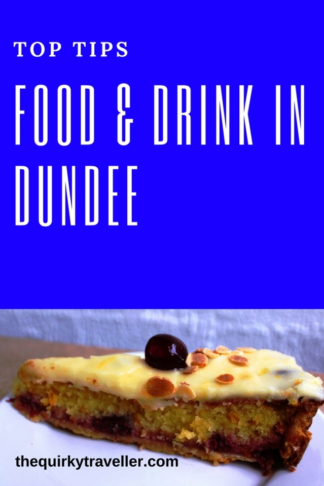 Top Tips for food and drink in Dundee Scotland