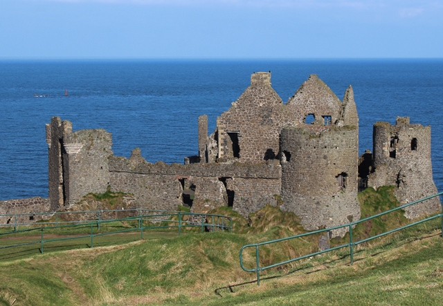 Dunluce Castle on Causeway Coast NI - zoedawes