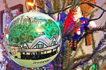 Dunster Christmas bauble