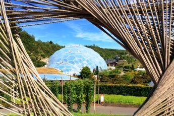 Eden Project Biome Cornwall - photo Zoe Dawes