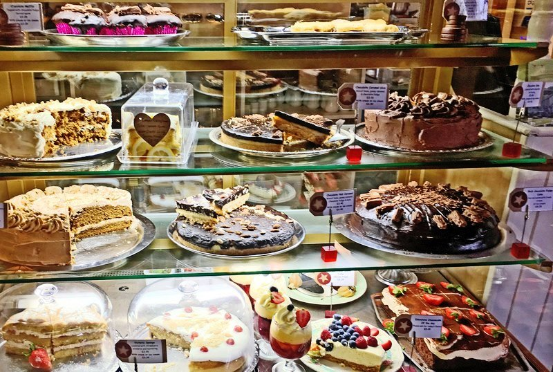 Edenshine Restaurant Cakes - Afonwen Craft and Antique Centre North East Wales - photo Zoe Dawes
