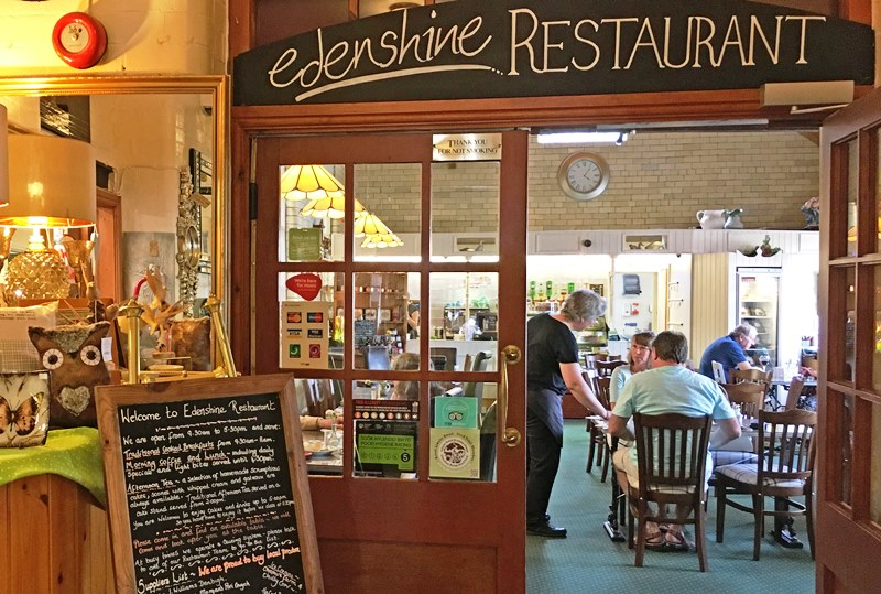 Edenshine Restaurant at Afonwen Craft Centre - North Wast Wales
