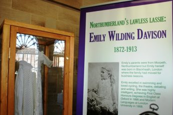 Emily-Wilding-Davison-poster Morpeth Northumberland