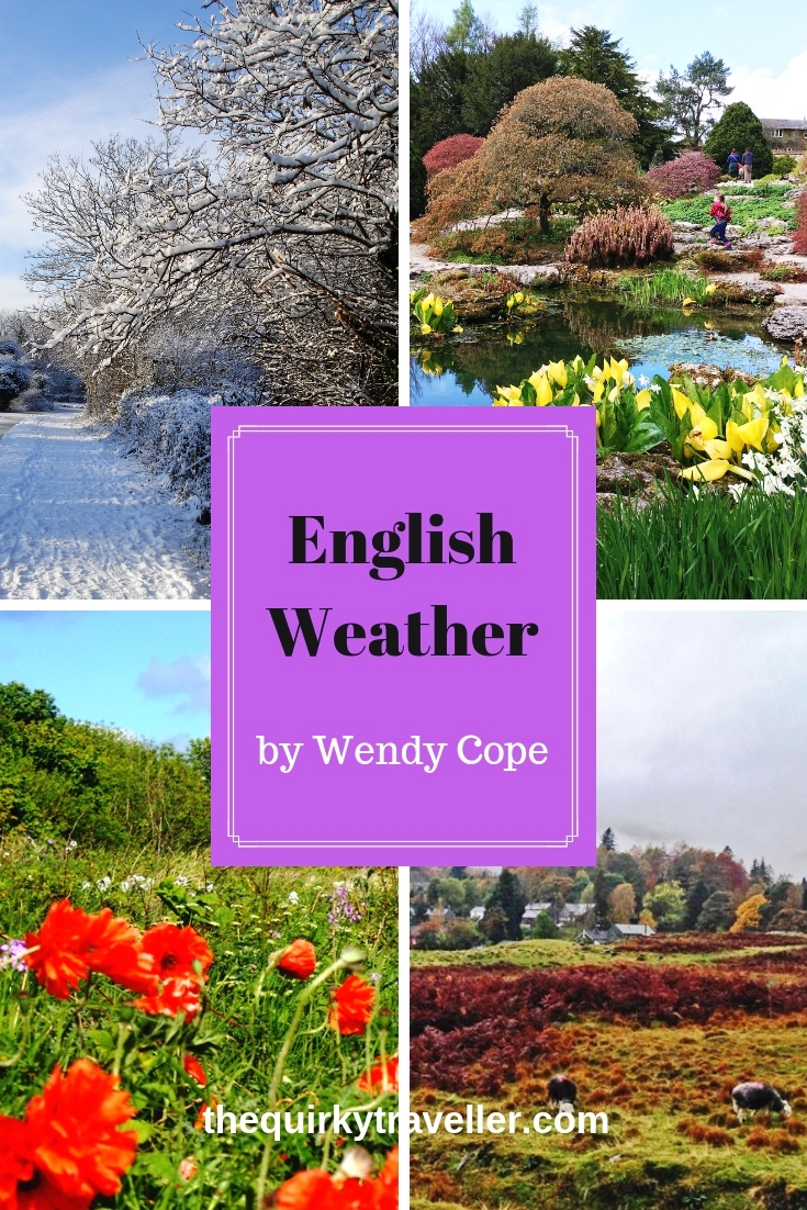 English Weather by Wendy Cope
