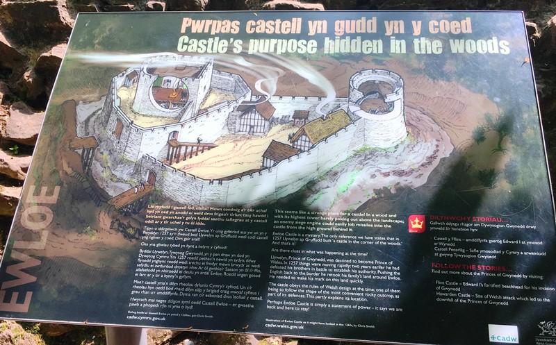 Ewloe Castle Flintshire Wales