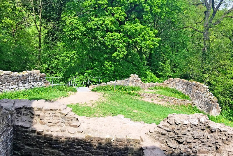 Ewloe Castle in Flintshire NE Wales - The Quirky Traveller