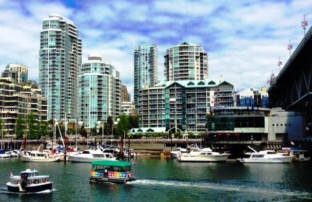 False Creek Vancouver BC Canada - mind, body, spirit travel