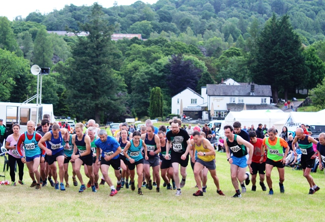 Adults Fell Race Langdale Gala Lake District