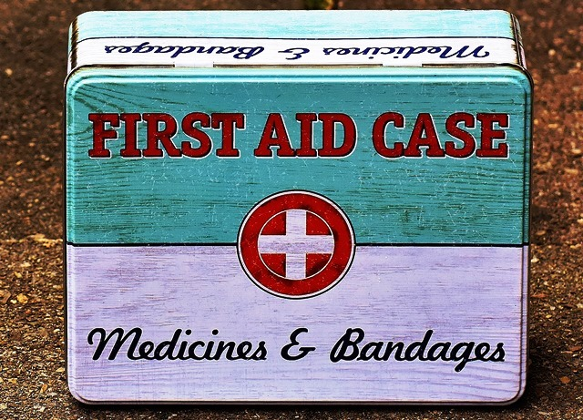Beginners Guide to Hiking - First Aid Box