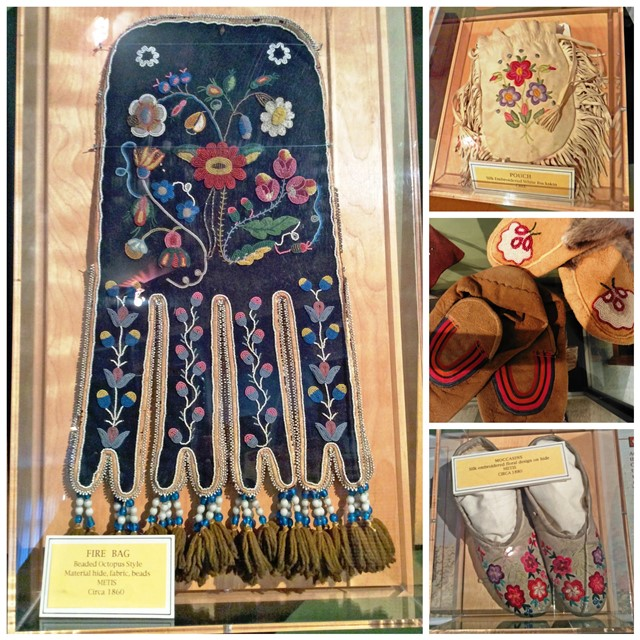 First Nation objects in Jasper Museum Alberta - image zoedawes