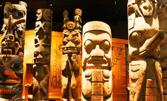 First Nation totems British Columbia museum - photo zoedawes