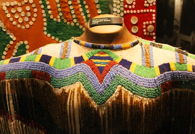 First Nations beaded dress bc museum victoria - - photo zoedawes