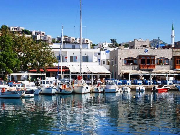 Fishing-port-in-Yalikavak Turkey