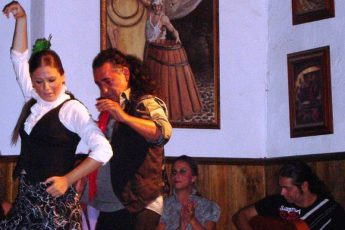 Flamenco dancing in Jerez Andalucia Spain - photo Zoe Dawes