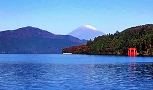 Fujisan from Motohakone Japan