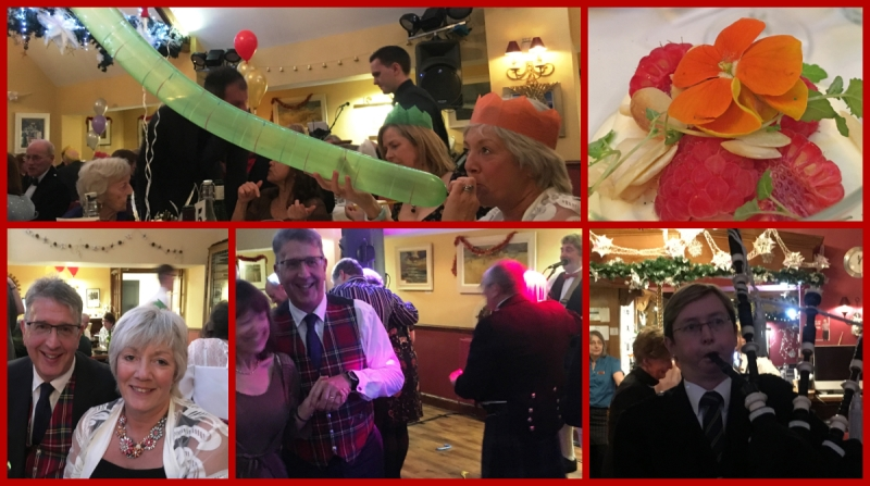Hogmanay Gala Dinner at The Selkirk Arms Hotel Kirkcudbright