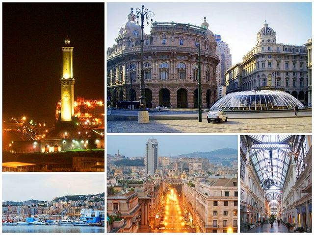Genoa-Genova Italy - Collage by DanieleDF1995