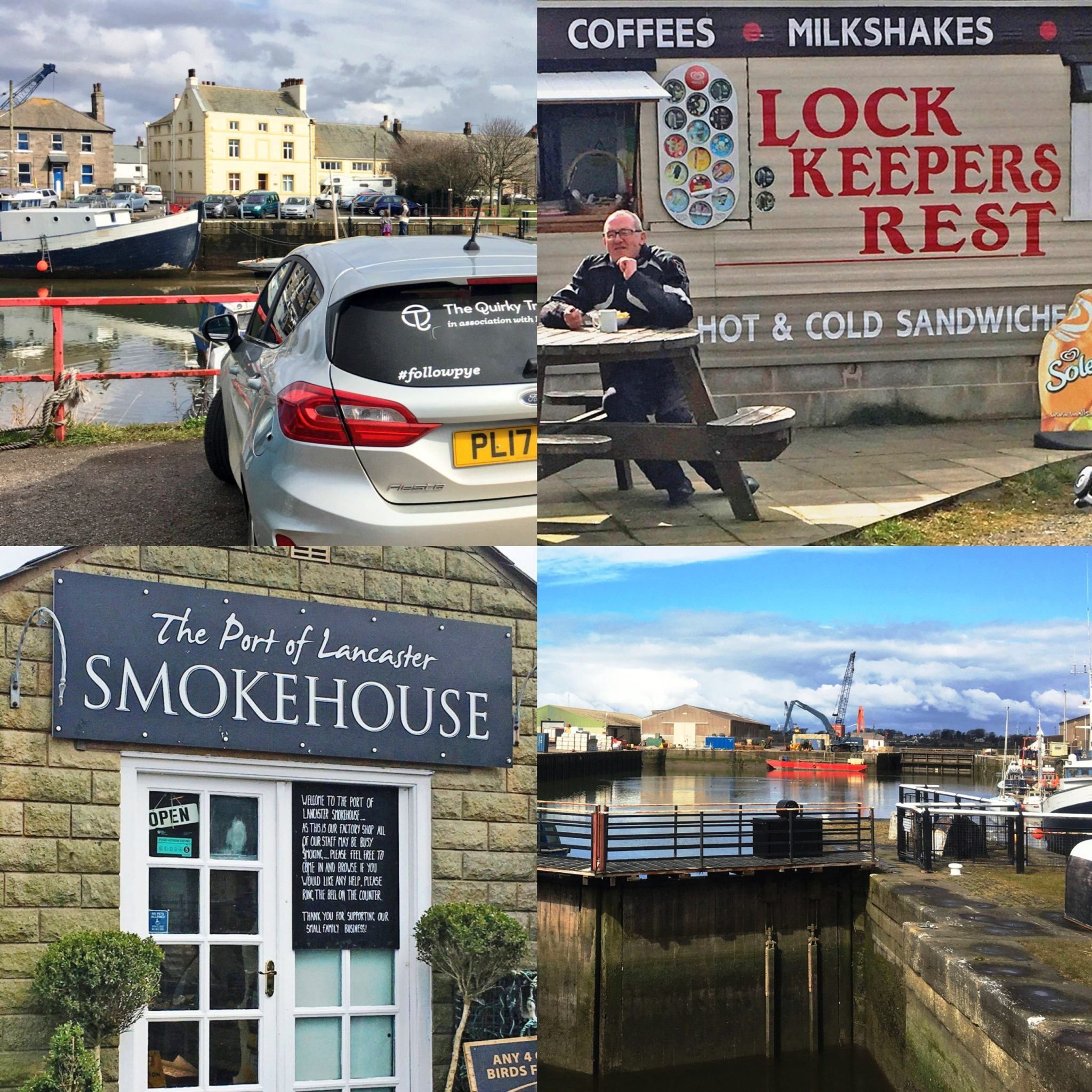 Glasson Dock - The Quirky Traveller day out Morecambe Bay