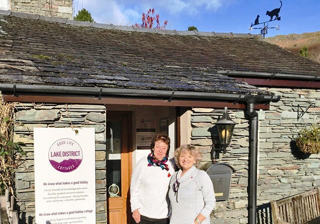 Good Life Lake District Cottage Company Office Elterwater Lake District - photo Zoe Dawes