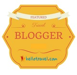 HelloTravel Featured Travel Blogger Badge