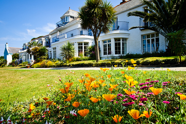 Hotel on Herm in the Channel Islands
