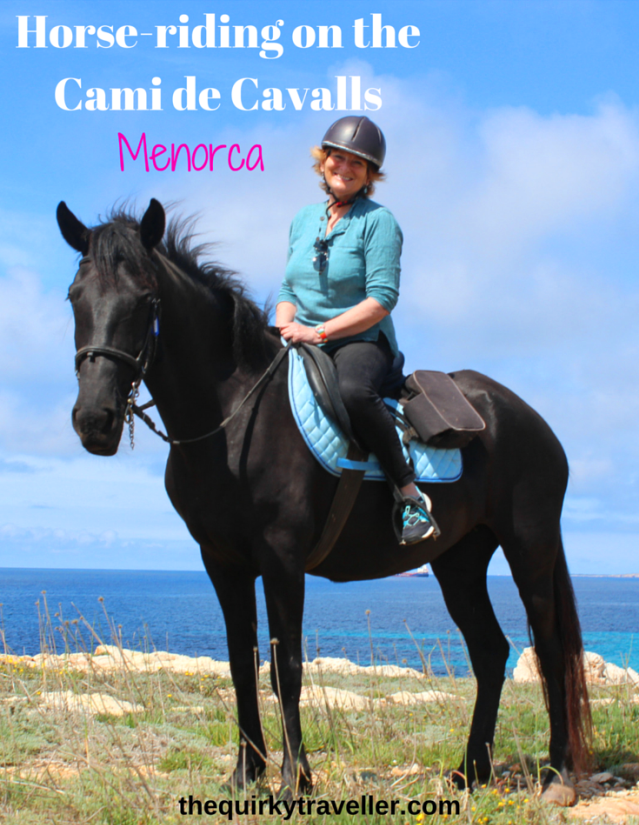 Horse-riding on the Cami de Cavalls Menorca