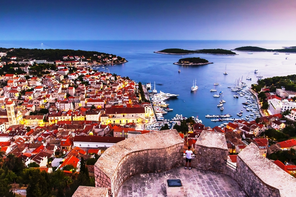 Romantic hotspots in Croatia - Hvar