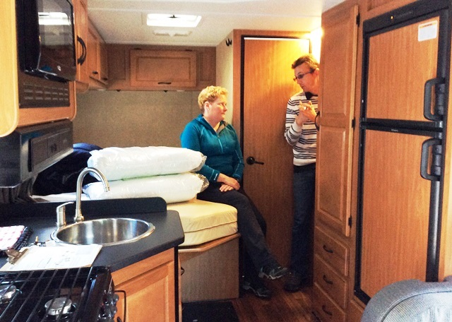Interior of Cruise Canada Standard RV