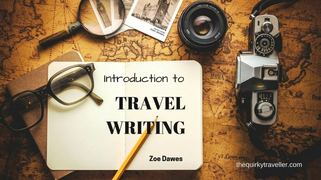 Introduction to Travel Writing with The Quirky Coachi