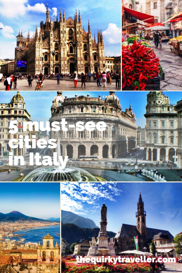 5 must-see cities in Italy - The Quirky Traveller