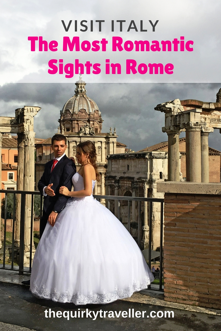 Romantic sights in Rome Italy - image by Zoe Dawes