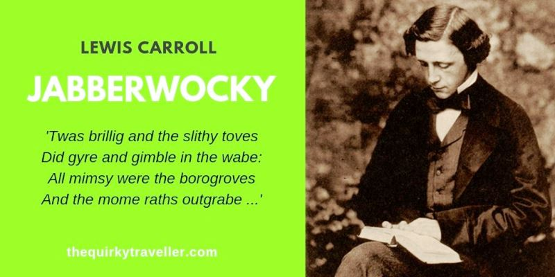 Quirky Travel Poem: Jabberwocky by Lewis Carroll