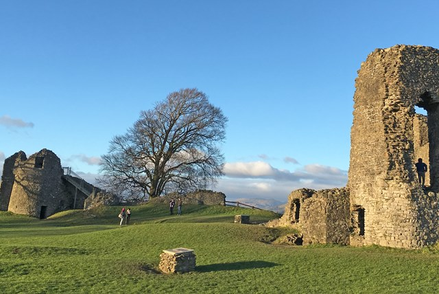 Kendal Castle and Tower