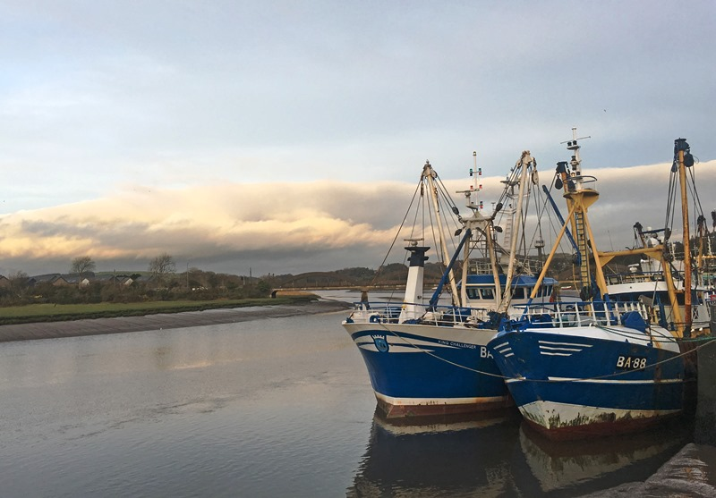 Kirkcudbright Fishing Harbour - photo The Quirky Traveller
